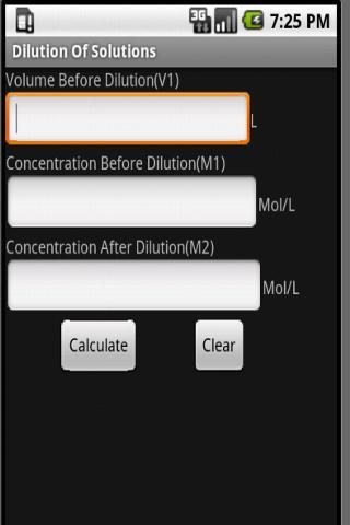 【免費生產應用App】Chemistry Calculators-APP點子