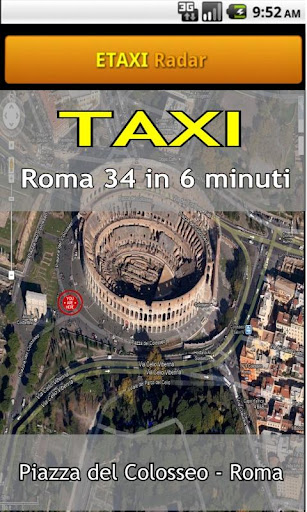Taxis in Italy - screenshot
