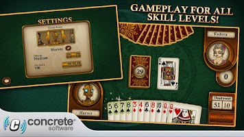 Screenshot of Aces Gin Rummy