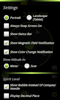 Screenshot of Camera Compass Pro