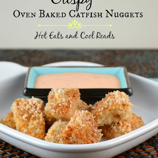 Crispy Oven Baked Catfish Nuggets