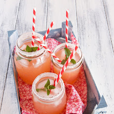 Grapefruit pink lemonade