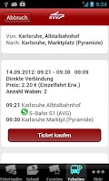 Screenshot of KVV.ticket