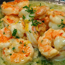 Easy & Healthy Shrimp Scampi