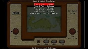 Screenshot of Game & Watch Simulators BETA