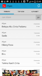 Lirik Lagu Indonesia Terbaru - screenshot