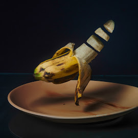The Floating Banana  by Anurag Das - Digital Art Things