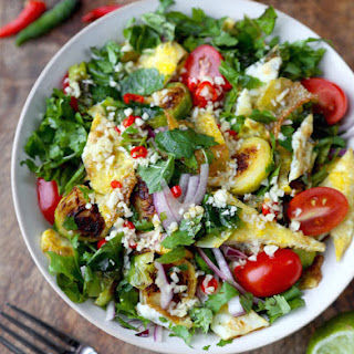 Brussels Sprout Salad with Thai Spices