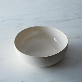 Wheel-Thrown Serving/Pasta Bowl
