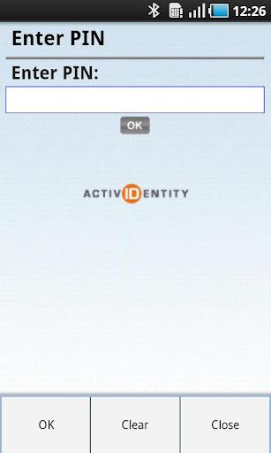 ActivIdentity 4TRESS Token