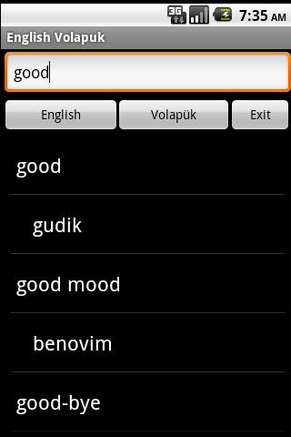 免費下載教育APP|英語Volapükは、辞書 app開箱文|APP開箱王