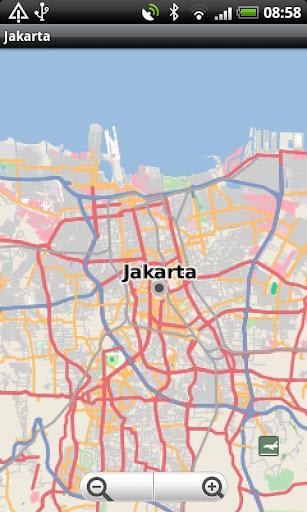 Jakarta Street Map