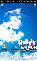 Screenshot of Rabbit Launcher 3D Home Theme