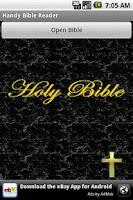 Screenshot of Handy Bible Reader