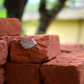 Bricks . . . by Prashant Thakur - Nature Up Close Rock & Stone ( kullu, bricks )