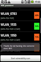 Screenshot of Wifi Password Recovery