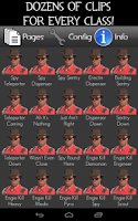 Screenshot of TF2 Uber Soundboard