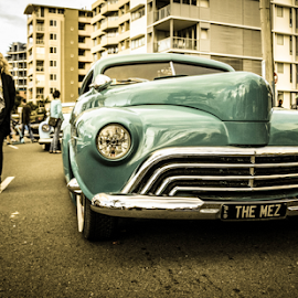 Floating past by Petra Bensted - Transportation Automobiles ( gold coast, vintage, cars, rock and roll, cooly rocks )