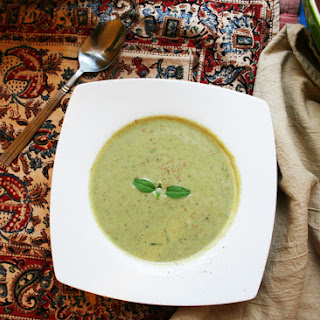 Broccoli & Almond Soup