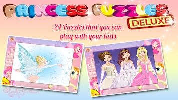 Screenshot of Princess Puzzles Deluxe