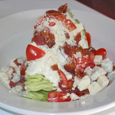Iceberg Wedge Blue Cheese Bacon & Tomato Salad