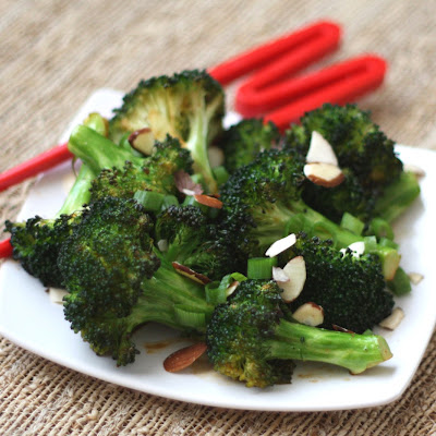 Sriracha Honey Roasted Broccoli