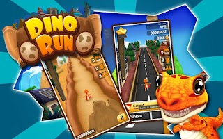 Screenshot of Dino Run: Jurassic Escape
