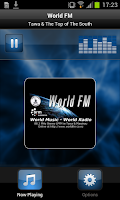 Screenshot of World FM