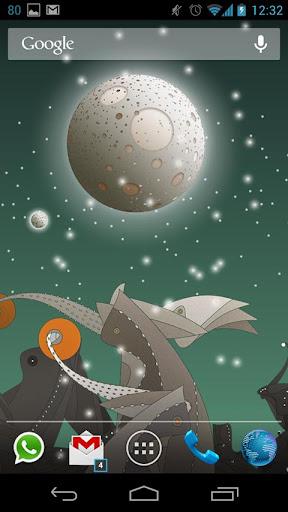玩個人化App|Drobita moon LWP免費|APP試玩