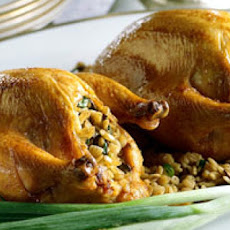 Scooter's Stuffed Cornish Game Hens