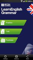 Screenshot of LearnEnglish Grammar (UK ed.)