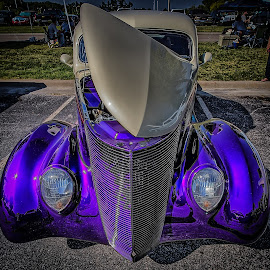 Purple by Ron Meyers - Transportation Automobiles