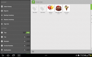 Screenshot of AprivaPay Plus for Tablet