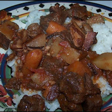 Decadent Crock Pot Beef Stew With Red Wine
