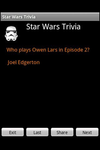 Impossible Star Wars Trivia
