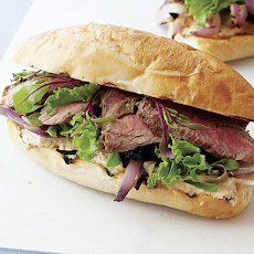 Steak Sandwiches with Spicy Horseradish Mayonnaise