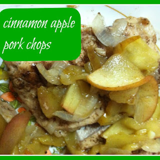 Cinnamon Apple Pork Chops