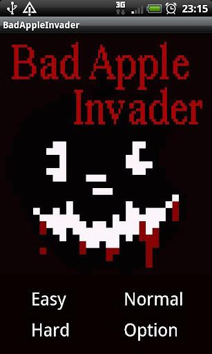 Bad Apple Invader