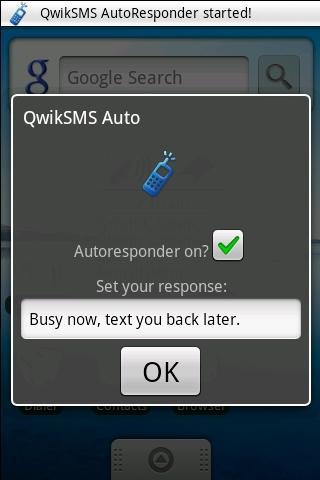 QwikSMS AutoResponder