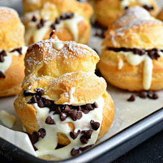 Cannoli Choux Pastry (Cream Puffs)