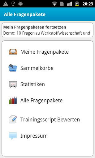 Trainingscript
