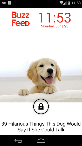 Lockfeed Lock Screen APK
