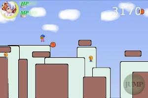Screenshot of Run! Run! Sheep Girl Lite