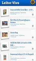 Screenshot of Leitor Vivo: QR Codes