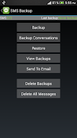 Screenshot of Super Backup : SMS & Contacts
