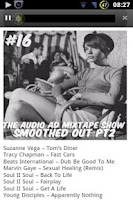 Screenshot of Audio Ad Mixtapes
