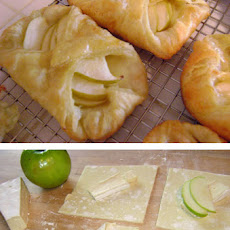 Individual Brie and Apple Tarts