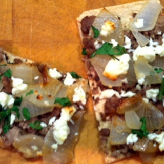 Lamb, Mint and Feta Flatbread
