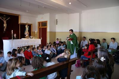 Misa del Domingo 26 de octubre de 2008 en el Colegio Veracruz