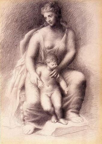 Picasso 1922 Mère et enfant